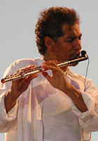 Nestor Torres at the 2003 Cabo Jazz Festival