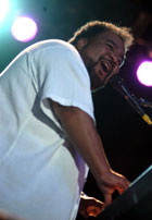 George Duke at the 2003 Cabo Jazz Festival